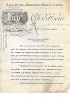 75.- PARIS - CH. HOUR  Manufacture D' Horlogerie - Bronze & Marbre 0 - Frankreich