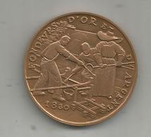 Médaille , Monnaie De Paris , Fondeurs D'or Et D'argent,1830,  Souvenir De Visite ,  2 Scans - Monnaie De Paris