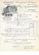 25.- MORTEAU .- AUGUSTE JACOUTOT Manufacture D' Horlogerie - France