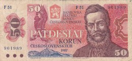Tchécoslovaquie - Billet De 50 Korun - L. Stur - 1987 - Tchécoslovaquie
