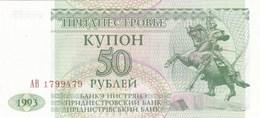 Transnistrie - Billet De 50 Roubles - 1993 - Neuf - Moldavie