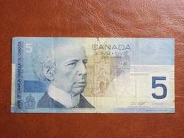 Canada - Billet De 5 Dollars - Laurier - 2002 - Canada