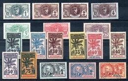 SENEGAL - YT N° 30 à 46 - Neufs * - MH - Cote: 352,00 € - Lire Descriptif - Senegal (1887-1944)