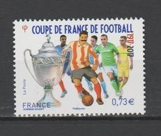 FRANCE / 2017 / Y&T N° 5145 ** : Coupe De France De Football 1917-2017 - Gomme D'origine Intacte - France