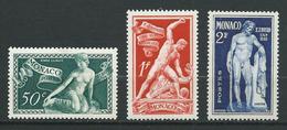 MONACO 1948 . N°s 314 , 315 Et 316 . Neufs ** (MNH) . - Monaco