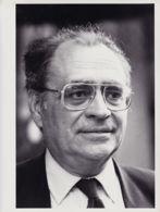 BERE39 Pierre BEREGOVOY Portrait 1990s Photo-Presse GUENA 24.5x19 - Célébrités