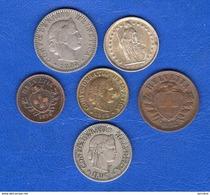 Suisse  5  Rappen  1918   +5  Pieces - Suisse