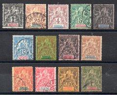 SENEGAL - YT N° 8 à 20 - Obl - Cote: 177,50 € - Sénégal (1887-1944)