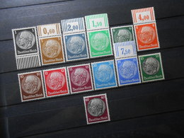 D.R.Mi 512X(*)/513X**-522Xa**/525X*/526X* - 1933 - Mi 15,20 € - Unused Stamps