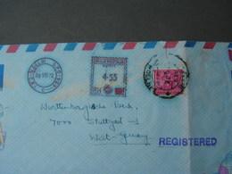 India 1972 Cv. - Briefe U. Dokumente