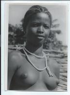 Jeune Fille Seins Nus Photo 13x18 Cm - Africa