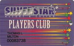 Silver Star Casino - Philadelphia, MS - Slot Card - Casinokarten