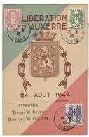 17987 - Libération AUXERRE - Marcophilie (Lettres)