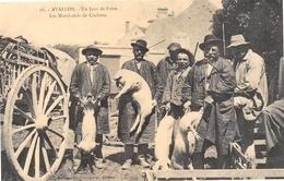 Avallon - Un Jour De Foire - Les Marchands De Cochons - Cecodi N'A 55 - Avallon