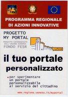 Regione Veneto. Due Cartoline Propaganda Progetto ELTW. NV. - Cartoline
