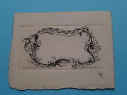 LOUIS XV ( Revellat Paris - 25 Quai Augustins ) > ( Voir / Zie Photo ) Le Verso Est Blanco / Format 10,5 X 8,5 Cm. ! - Estampes & Gravures