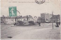 56. LORIENT. Statue Jules Simon Et Place Du Morbihan (Nouvelle Entrée De La Ville). 2737 - Lorient