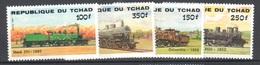 Tchad Chad Mnh ** Train Set - Eisenbahnen