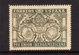 SPAIN ESPAÑA SPAGNA 1930 COAT OF ARMS BOLIVIA PARAGUAY STEMMA CENT. 1c MLH - 1889-1931 Regno: Alfonso XIII