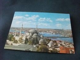 STORIA POSTALE  FRANCOBOLLO TURCHIA  TURKIYE ISTANBUL MOSCHEA MOSQUEE MOSQUE SOLIMAN - Islam