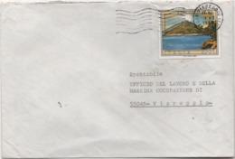 Turistica Stromboli £. 450 Su Busta Viaggiata 03.07.1985 - 6. 1946-.. Repubblica