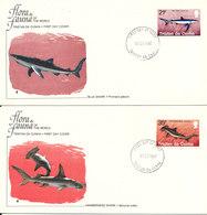 Tristan Da Cunha FDC 8-2-1982 Fish Set Of 2 On 2 Covers With Cachet - Tristan Da Cunha