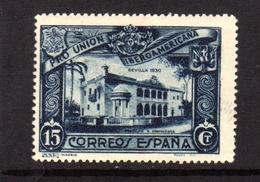 SPAIN ESPAÑA SPAGNA 1930 DOMINICAN REPUBLIC PAVILION PADIGLIONE CENT. 15c MLH - Nuovi