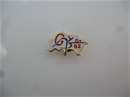 PINS SPORT GYMNASTIQUE GYM 92 / 33NAT - Ginnastica
