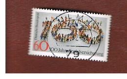 GERMANIA (GERMANY) - SG 1980  - 1981 SOCIAL INSURANCE -   USED - [7] République Fédérale