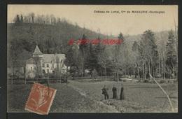24 COMMUNE DE MANAURIE - Château De LORTAL - CPA UNIQUE - France