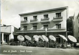 LIDO DI JESOLO  VENEZIA  Hotel Europa  Macelleria Toso  Insegna Caffè Hausbrandt  Ombrelloni Recoaro - Venezia