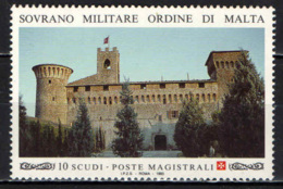 SMOM - 1993 - IL CASTELLO DELLO S.M.O.M. A MAGIONE (PERUGIA) - MNH - Sovrano Militare Ordine Di Malta