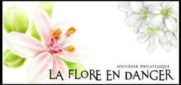 Souvenir Philatélique La Flore En Danger (2019) Neuf** - Blocs Souvenir
