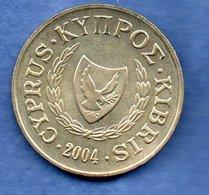 Chypre -  10 Cents 2004  -  Km # 56.3  - état  SPL - Cyprus
