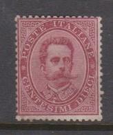 Italy S 38 1879 King Humbert I, 10c Carmine, Mint Hinged - 1878-00 Umberto I