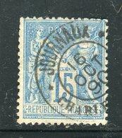 Superbe N° 90 Cachet Journaux Charleville ( 1890 ) - 1876-1898 Sage (Type II)