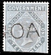 !■■■■■ds■■ India 1870 Telegraph Not Issued British India Stamp Used In Goa (x4703) - Inde Portugaise