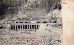 CPA   EGYPTE---TEMPLE DE DEIR EL BAHRI--1908 - Egypt