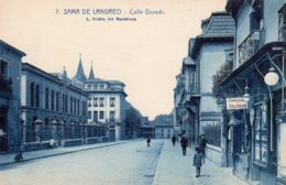 CPA   ESPAGNE---SAMA DE LANGREO---CALLE DORADO - Asturias (Oviedo)