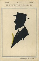 GENT - GAND :  Exposition 1913  (  SILHOUETTES ' WILLY '  ) - Gent