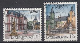 LUXEMBURG - Michel - 1988 - Nr 1201/02 - Gest/Obl/Us - Oblitérés