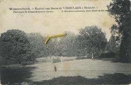 Westmeerbeeck :  Kasteel Van Baron Serclaes   ( Geschreven 1903  Met Zegel ) - België