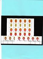 Moldavia 2017 - Serie Completa Di 6 Stamps In Striscia Di 5 Stamps  Definitiva - Moldova