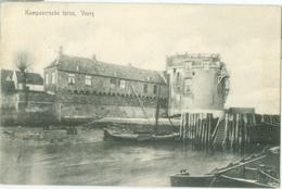 Veere 1908; Kampveersche Toren - Gelopen. (C.J. Schippers - Veere) - Veere