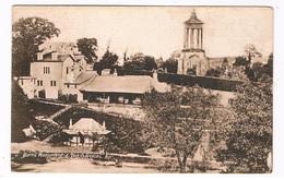 UK-3222   AYR : Burn's Monument & Ted Gardens - Ayrshire