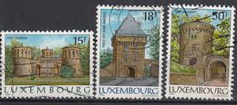 LUXEMBURG - Michel - 1986 - Nr 1153y + 1155y + 1154x - Gest/Obl/Us - Luxembourg