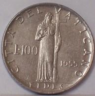 Città Del VATICANO 100 LIRE 1955 - Vaticano