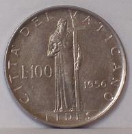 Città Del VATICANO 100 LIRE 1956 - Vaticano