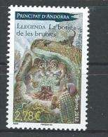 "Andorre YT 718 "" Légende "" 2012 Neuf** - French Andorra"