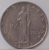Città Del VATICANO 100 LIRE 1957 - Vaticano
